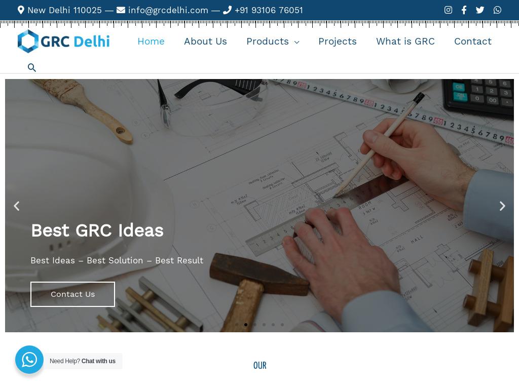 GRC Jali Manufacturer in Gurgaon, Delhi, Noida and NCR