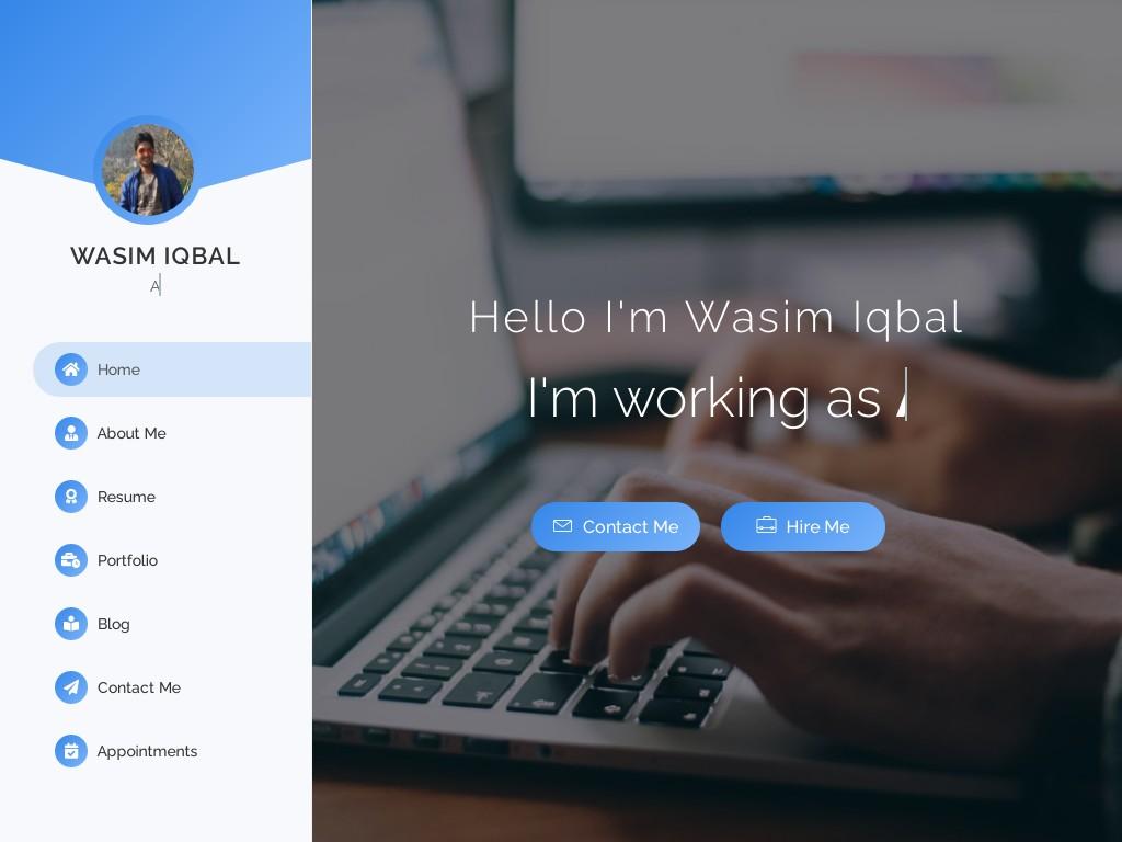 Wasim Iqbal - Freelancer / Website and App developer